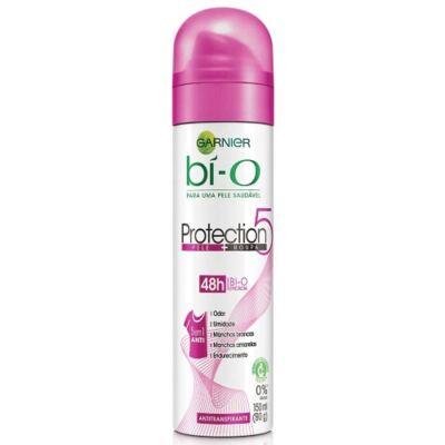Imagem 2 do produto Kit Desodorante Bí-o Protection 5 Aerosol Feminino 150ml 3 Unidades