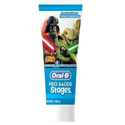 Imagem 3 do produto Kit Oral-b Stages Star Wars Escova Dental Infantil Pró-saúde + Creme Dental 75ml