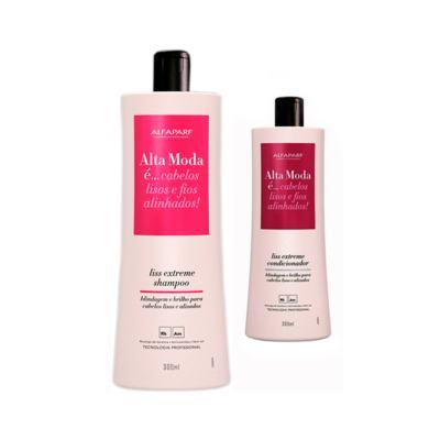 Kit Alta Moda Liss Extreme 2 Shampoo + 1 Condicionador 300ml