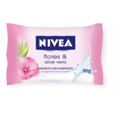 Sabonete Nivea Aloe Vera e Flores 90g