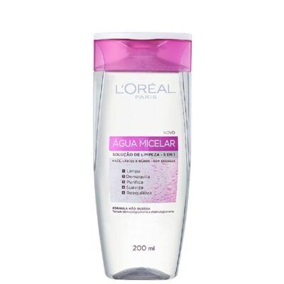 Imagem 6 do produto Loreal Água Tônico Micelar 200ml + Base L'Oréal BB Cream 5 em 1 Clara FPS 20 50ml