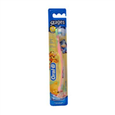 Escova Dental Oral-B Infantil Stages 1- 4 A 24 meses