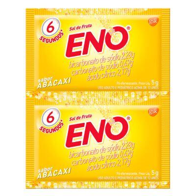 Imagem 1 do produto Sal de Fruta Eno Abacaxi 5g 2 Envelopes