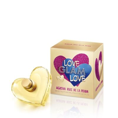 Imagem 1 do produto Love Glam Love By Agatha Ruiz De La Prada Feminino Eau De Toilette - 50ml