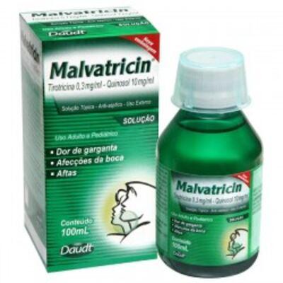 Imagem 1 do produto Antisséptico Bucal Malvatricin 100ml