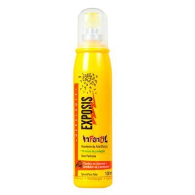 Imagem 1 do produto Repelente Exposis Spray Infantil 100ml