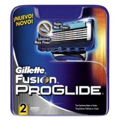 Imagem 1 do produto Carga Gillette Fusion Proglide C/2