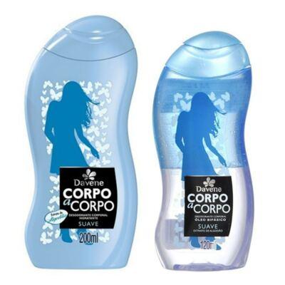 Imagem 1 do produto Kit Davene Corpo a Corpo Suave Loção Hidratante 200ml + Óleo Bifásico 120ml