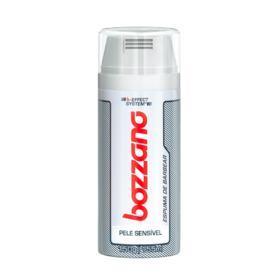 Espuma de Barbear Bozzano - Pele Sensível | 200ml