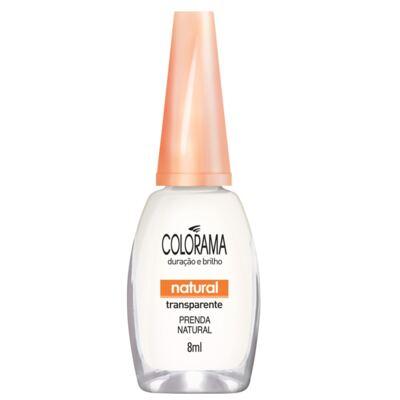 Esmalte Colorama Natural Transparente Prenda Natual 8ml