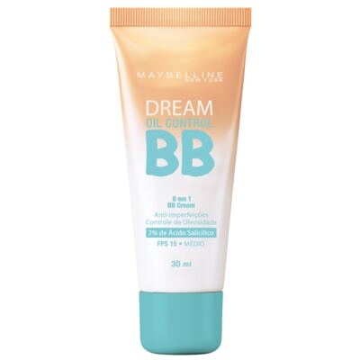 Base Maybelline BB Cream Dream Oil Control FPS15 Médio 30ml