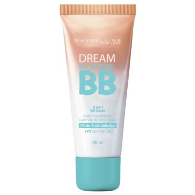 Base Maybelline BB Cream Dream Oil Control FPS15 Escuro 30ml
