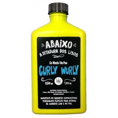Condicionador Lola Curly Wurly Co Wash No Poo 250g