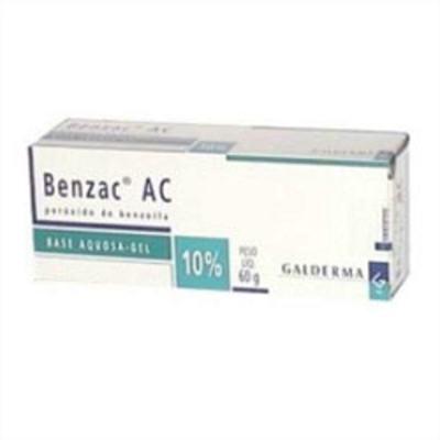 Imagem 1 do produto Benzac AC gel 10% 60g