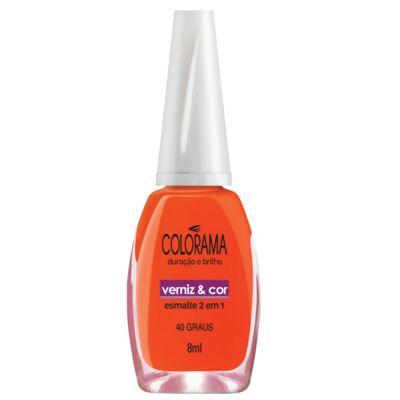 Imagem 1 do produto Esmalte Colorama Verniz&Cor 40 Graus 8ml