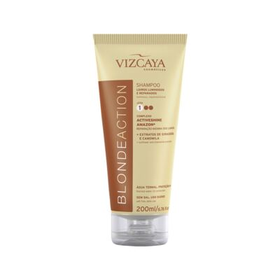 Imagem 2 do produto Kit Vizcaya Blonde Action Shampoo 200ml + Condicionador 200ml