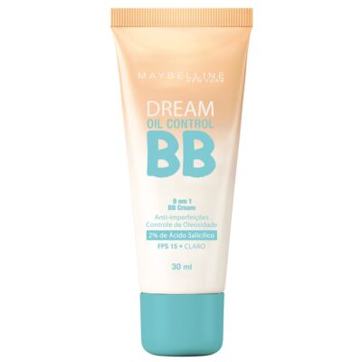 Imagem 1 do produto BB Cream Maybelline Dream Oil Control Claro FPS 15 30ml