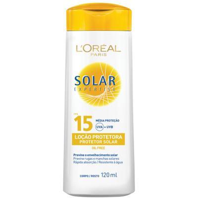 Protetor Solar L'Oréal Expertise FPS 15 120ml