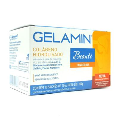 Gelamin Advanced Envelope 10g 10 Unidades