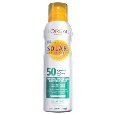 Imagem 1 do produto Protetor Solar L'Oréal Expertise Spray FPS 50 200ml