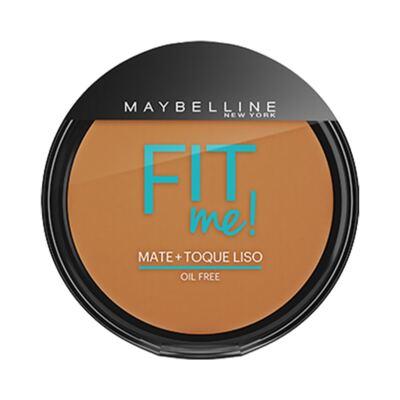 Maybelline Pó Compacto Mate + Toque Liso Fit Me! Cor 220 Médio Pra Mim