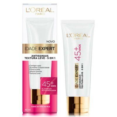 Imagem 1 do produto Creme Antissinais L'Oréal Idade Expert 45+ 40ml