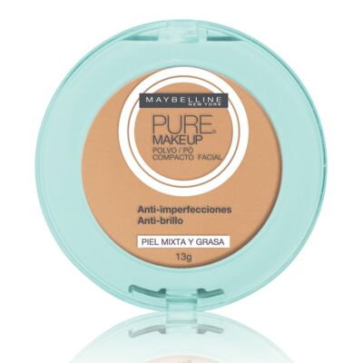 Pó Compacto Maybelline Pure Makeup Natural 13g