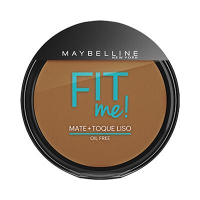 Maybelline Pó Compacto Mate + Toque Liso Fit Me! Cor 300 Escuro Original