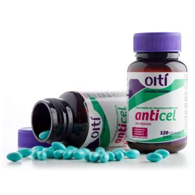 Imagem 2 do produto Suplemento Oiti Anticel Vitaminas Cápsulas Mole