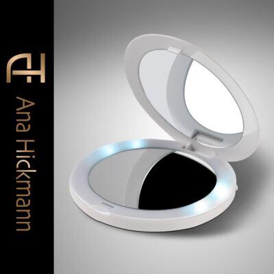 Imagem 3 do produto Espelho Ana Hickmann com LED Pocket Mirror USB Relaxbeauty