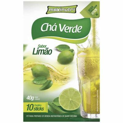 Imagem 1 do produto CHÁ VERDE 10 STICKS TISANA - MAXINUTRI