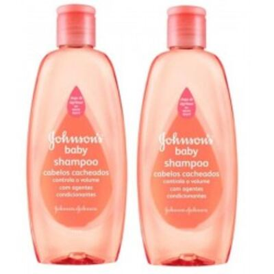 Shampoo Johnson's Baby Cabelos Cacheados 200ml 2 Unidades