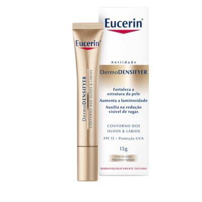 Imagem 2 do produto DermoDENSIFYER Olhos & Lábios FPS 15 Eucerin - Creme de Fortalecimento dos Olhos - 15g