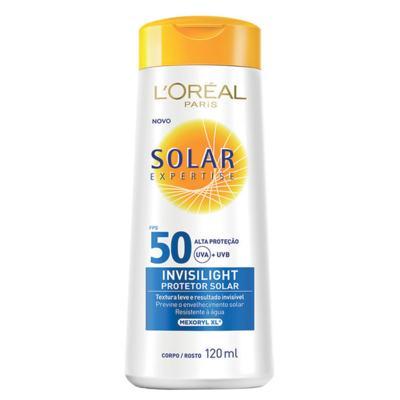 Imagem 1 do produto Protetor Solar L'Oréal Paris Solar Expertise Invisilight Fps 50 - 120ml