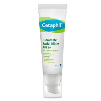 Cetaphil Hidratante Facial Diário FPS50 - Hidratante Facial - 50ml