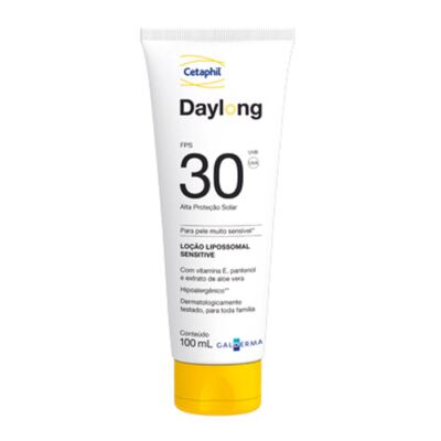 Cetaphil Daylong FPS30 Loção Lipossomal Sensitive - Protetor Solar - 100ml