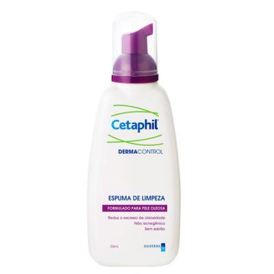 Imagem 1 do produto Cetaphil Dermacontrol Espuma de Limpeza - Limpeza Facial para Pele Oleosa - 236ml
