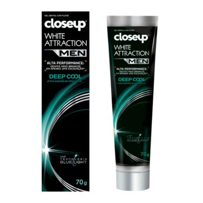 Gel Dental Close Up White Attraction Men Deep Cool 70g