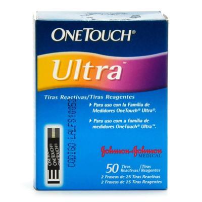 Onetouch Ultra Johnson's 2 X 50 Tiras