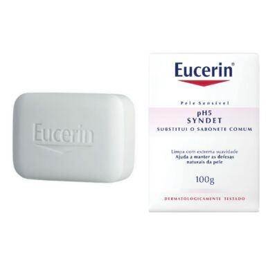 Sabonete em Barra Eucerin pH5 Skin Protection Syndet 100g
