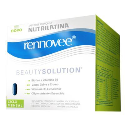 Imagem 1 do produto Rennovee Beauty Solution Nutrilatina - Suplemento para Combater a Perda de Firmeza - 42 Cápsulas