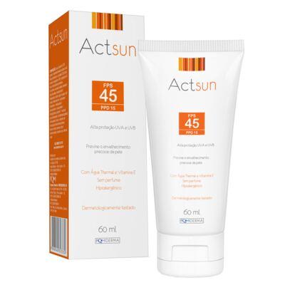 Imagem 1 do produto Protetor Solar Facial Fps45 Actsun - Protetor Solar - 60ml