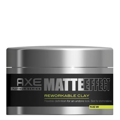 Axe Matte Effect Reworkable Clay - Pomada Modeladora - 93g