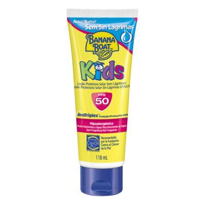 Imagem 1 do produto Protetor Solar Infantil Banana Boat Loção Kids sem Lágrimas FPS 50 - 118ml