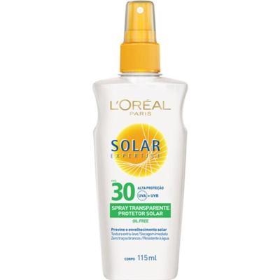 Imagem 1 do produto Solar Expertise Spray Transparente FPS 30 L'oréal Paris - Protetor Solar - 115ml