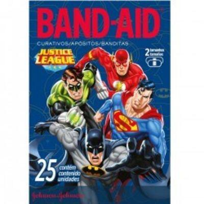 Curativo Band-Aid Liga da Justiça Johnson´s 25 unidades