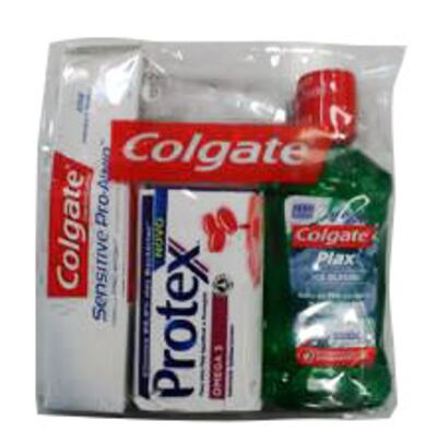 Mini Kit Higiene Colgate Brinde