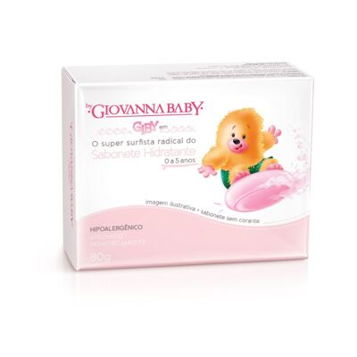 Sabonete Giovanna Baby Giby Rosa 80g - BRINDE