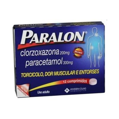 Paralon 300mg Johnson´s 12 Comprimidos