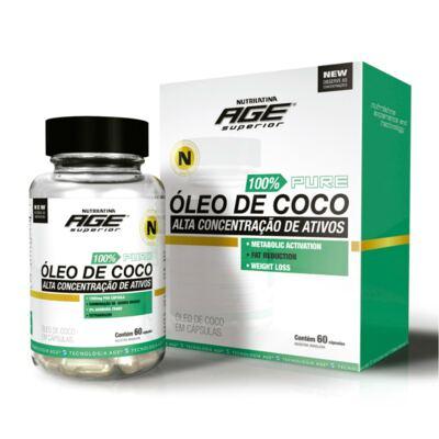 Imagem 1 do produto Óleo de Coco Nutrilatina 60 Cápsulas